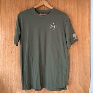 NWOT- Under Armour Freedom training shirt size M